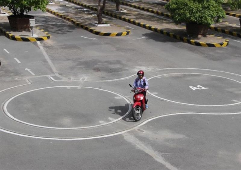 Đào tạo dạy học bằng lái xe mô tô A2